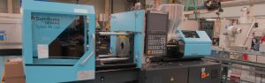 new 35t demag injection moulding machine